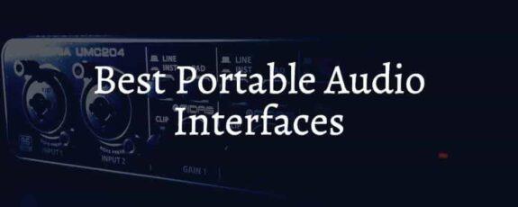 Best Portable Audio Interfaces Around